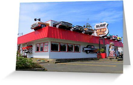 Hot Rod Grill....Bliss, Oregon by Diane Arndt
