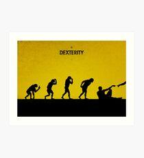 99 Steps of Progress - Dexterity Art Print