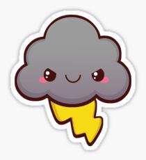Stormy Cloud Sticker