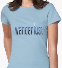 Wanderlust Women's Fitted T-Shirt