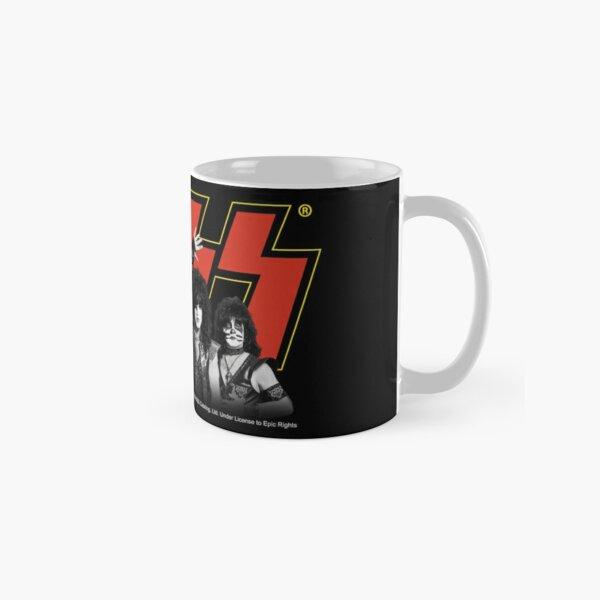 Kiss Band All Members - Red and Yellow Classic Mug