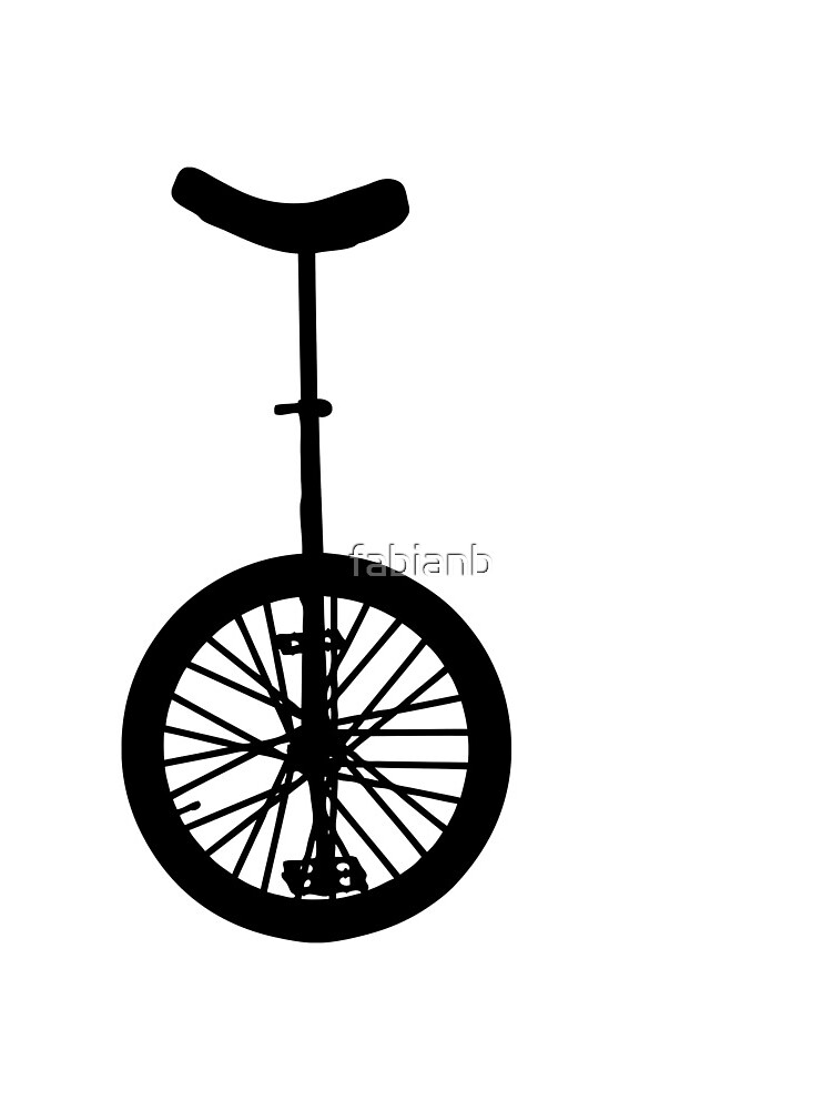 Unicycle Silhouette by fabianb