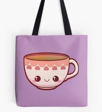 Kawaii Teacup Tote Bag