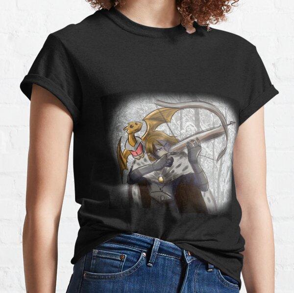 Dragonrider's Dance: Fantasy Winter Hunter Classic T-Shirt