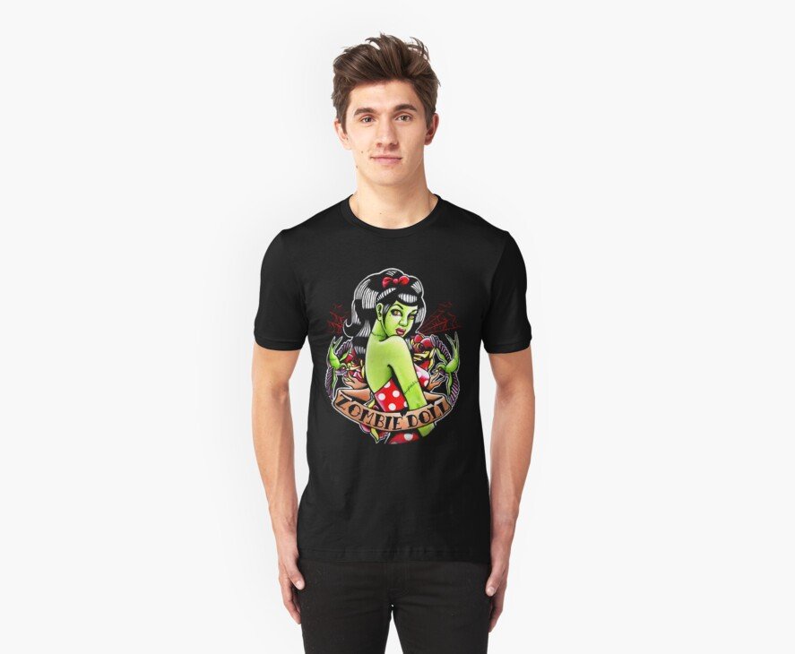 Zombie Doll Tee by MissCarissaRose