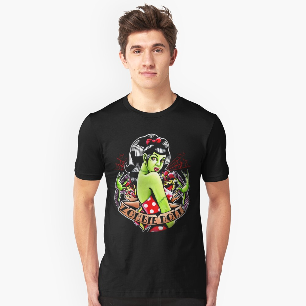 Zombie Doll Tee Unisex T-Shirt Front
