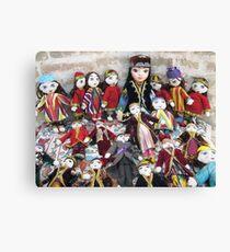 Traditional Uzbek Dolls for Sale Canvas Print