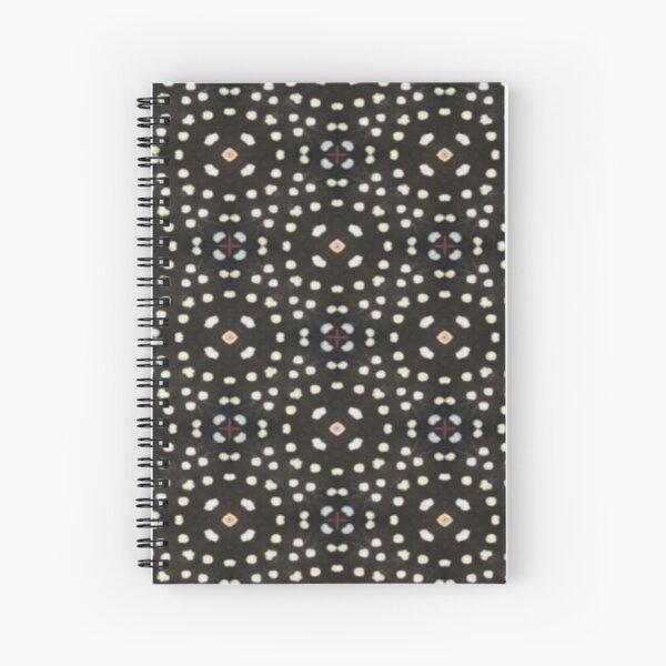 Ladybug Lace Spiral Notebook