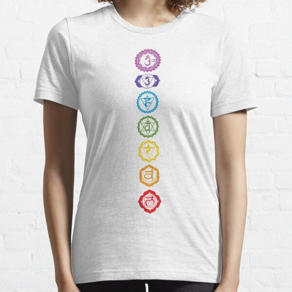 Chakras - The 7 Centers of Force Essential T-Shirt