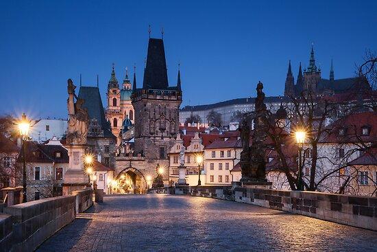 Prague Blues by Michael Breitung