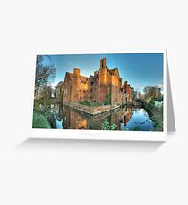 Harvington Hall, Worcestershire Greeting Card