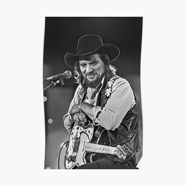 Waylon Jennings Legend  Poster