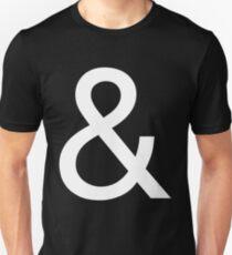 Ampersand (Helvetica Neue) II Unisex T-Shirt