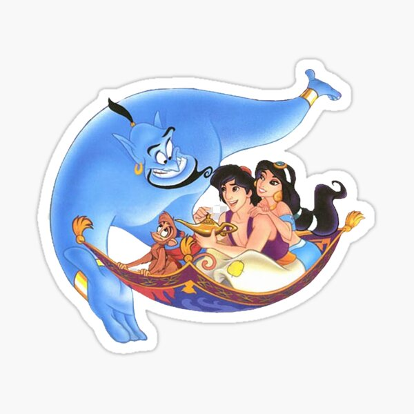 Aladino Pegatina