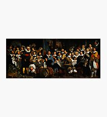 Bartholomeus van der Helst Banquet of the Amsterdam Civic Guard in Celebration of the Peace of Münster Photographic Print