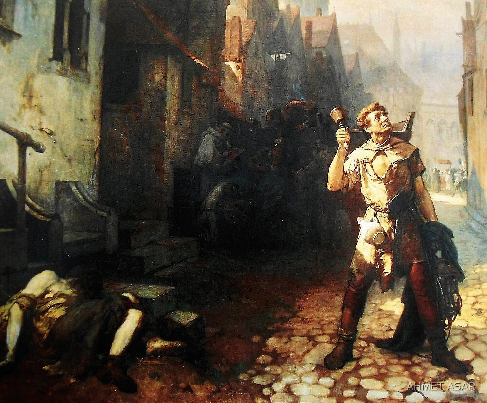 Belgian  Ferdinand Pauwels The plague in Ypres by MotionAge Media