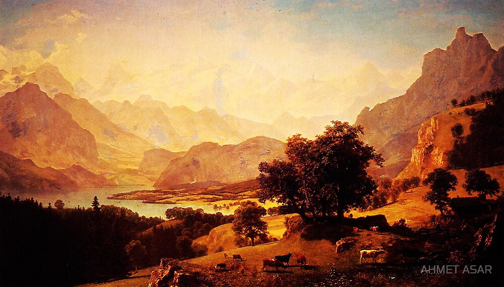 bernese alps as seen near kusmach 1859 by MotionAge Media