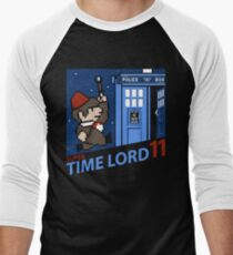 Super Time Lord 11 Men's Baseball ¾ T-Shirt