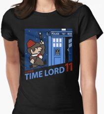 Super Time Lord 11 Womens Fitted T-Shirt
