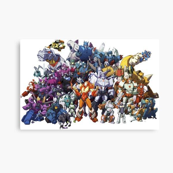 Transformers - More Than Meets The Eye Canvas Print