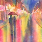 Rainy Night in New Orleans by Yevgenia Watts