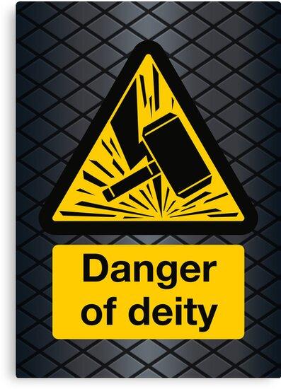 Danger of Deity by DoodleDojo