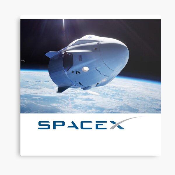 SpaceX Dragon Metal Print