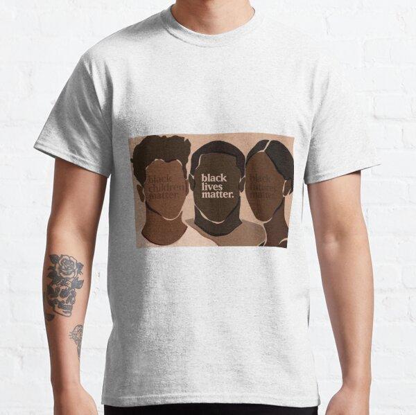 Noir vie affaire pan-africain Drapeau anti racisme protestation BLM T-shirt Unisexe Nouveau