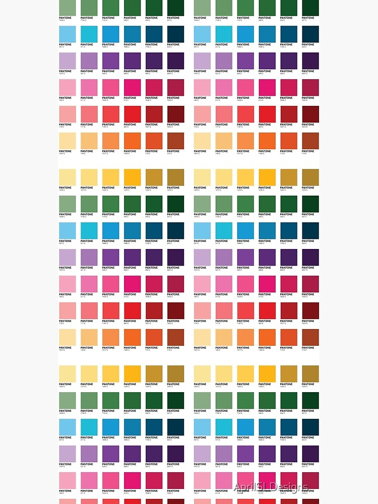 Shades of Pantone Colors by AprilSLDesigns