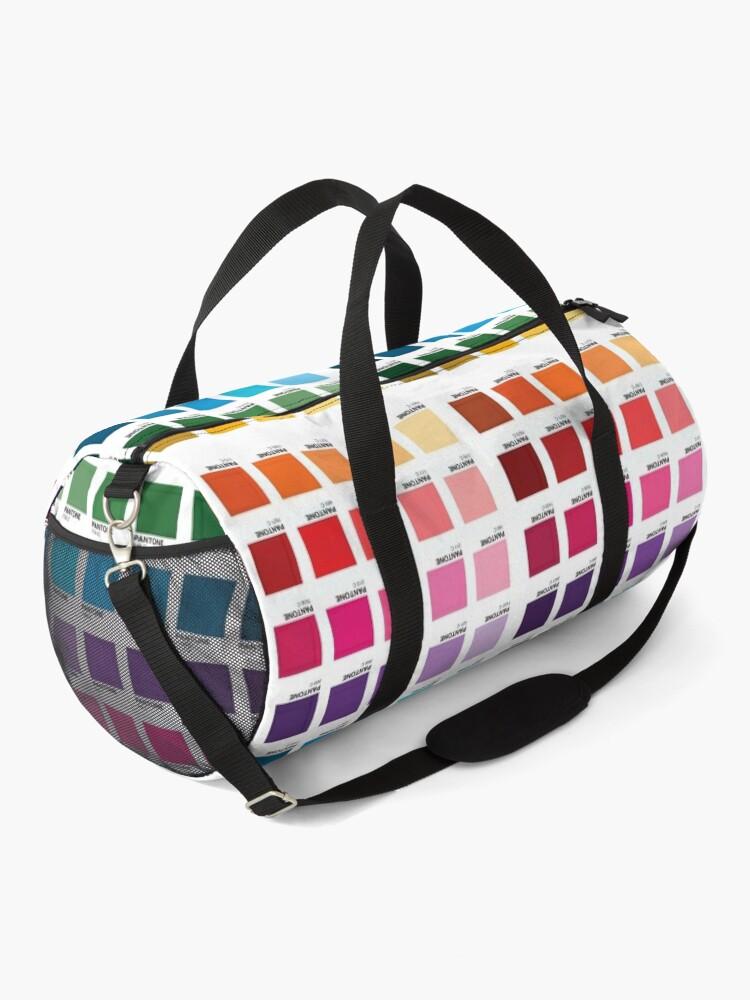 Alternate view of Shades of Pantone Colors Duffle Bag