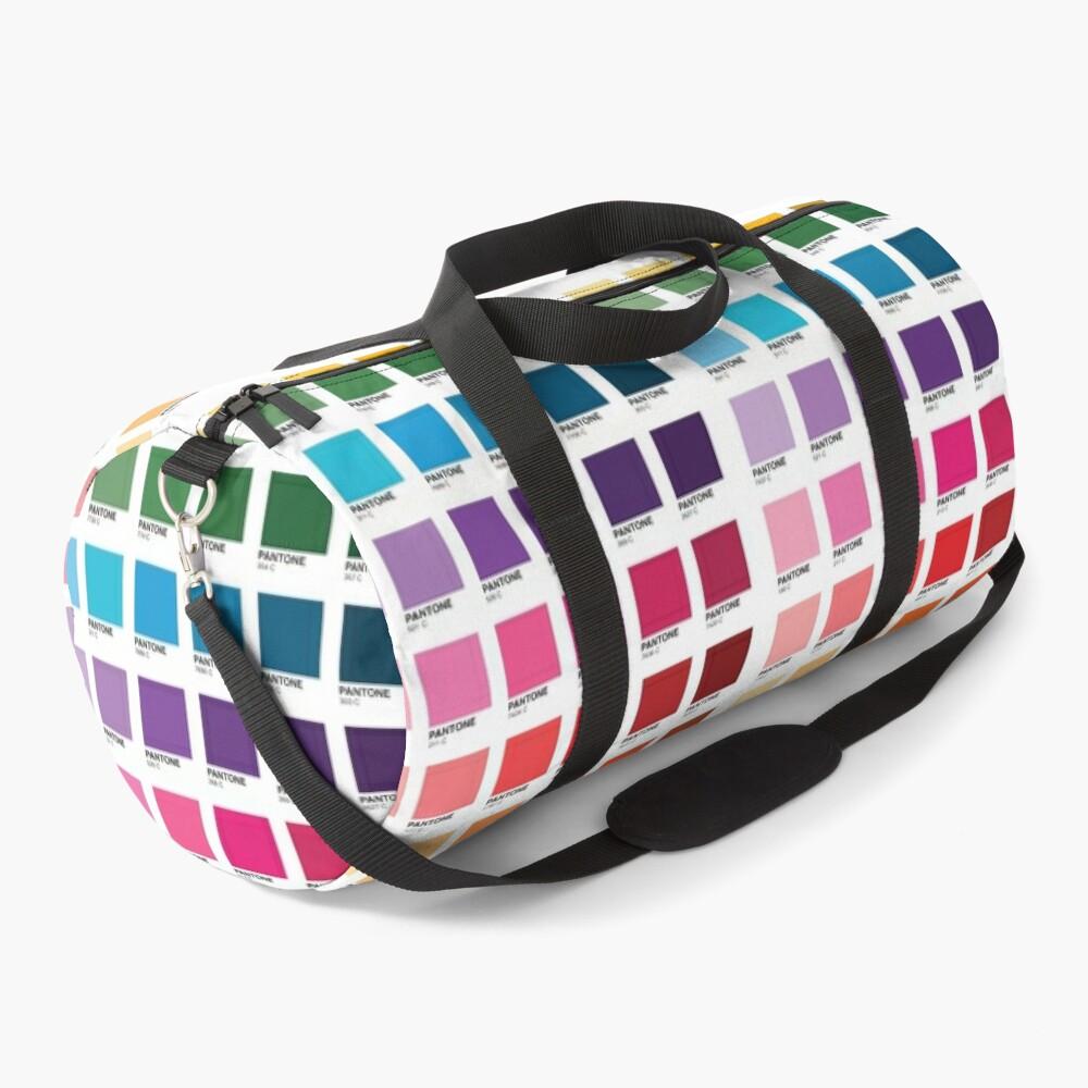 Shades of Pantone Colors Duffle Bag