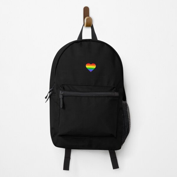 Little Rainbow Heart Backpack
