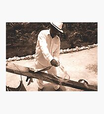 Weaver Photographic Print