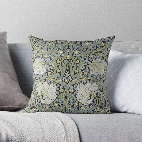 William Morris - Pimpernel   Design Throw Pillow