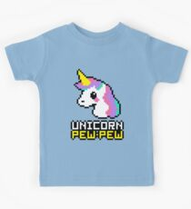 Unicorn Pew-Pew! Kids Clothes