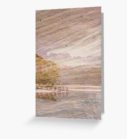 Jetty on Sandstone Greeting Card