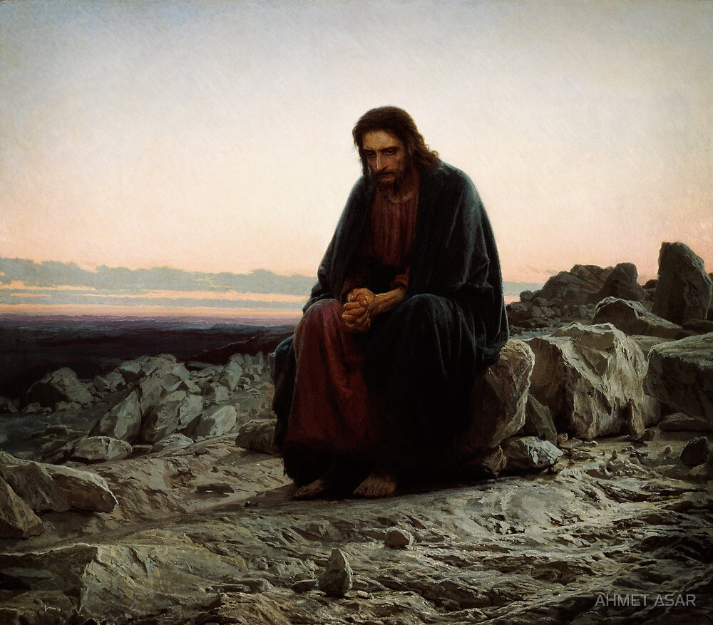 christ in the wilderness by MotionAge Media