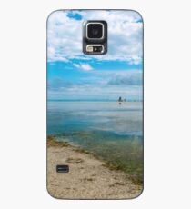 Peaceful anchorage at Tangalooma  Case/Skin for Samsung Galaxy