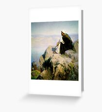 dreams on the hill Greeting Card