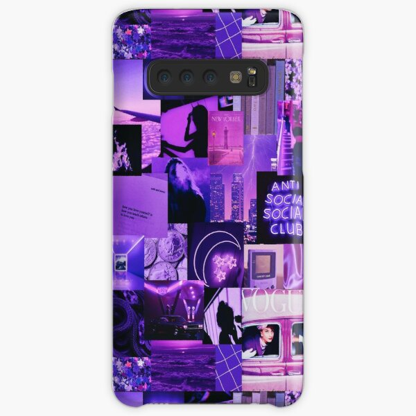 Purple Aesthetic Collage Samsung Galaxy Snap Case
