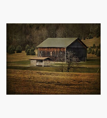 So many barns, so little time Photographic Print