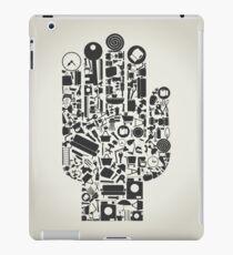 Hand house subjects iPad Case/Skin