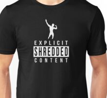 "ZYZZ - ""EXPLICIT SHREDDED CONTENT"" Unisex T-Shirt"