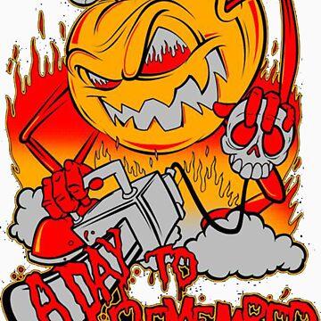 A Day To Remember Pumpkin Killer  by BryanPerez86