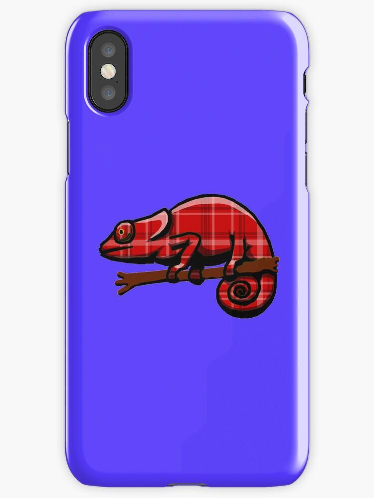 Plaid Chameleon by uncmfrtbleyeti