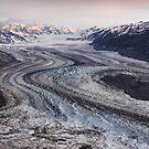 Lowell Glacier - Kluane National Park, Yukon by Marty Samis