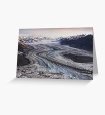 Lowell Glacier - Kluane National Park, Yukon Greeting Card