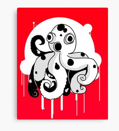 Octobuddy Canvas Print