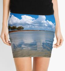 Jetty at St Helena Island Mini Skirt