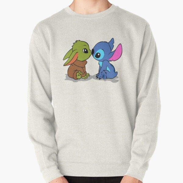 stitch and friend art Pullover Sweatshirt